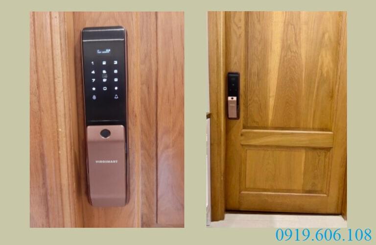 Lắp đặt khóa điện tử cho cửa chung cư giúp mang lại nhiều tiện ích khi sử dụng