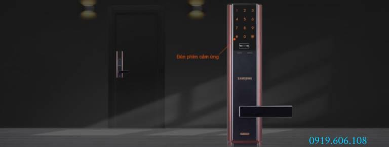 Câu hỏi về khóa cửa thẻ từ Samsung SHP-DH537MC/EN