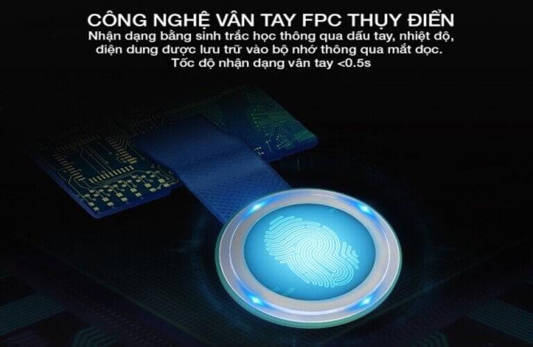 Công nghệ vân tay FPC Thụy Điển