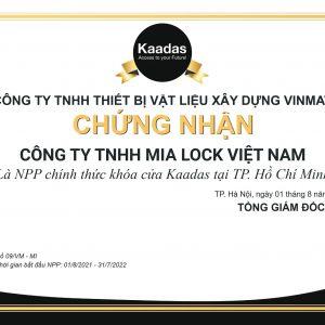 Mia Lock Nhà Phân Phối Chính Thức Khóa Điện Tử Kaadas