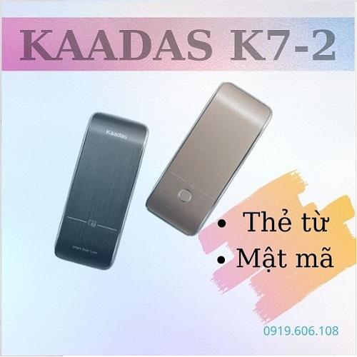 Khóa Cửa Thẻ Từ Kaadas R7-2