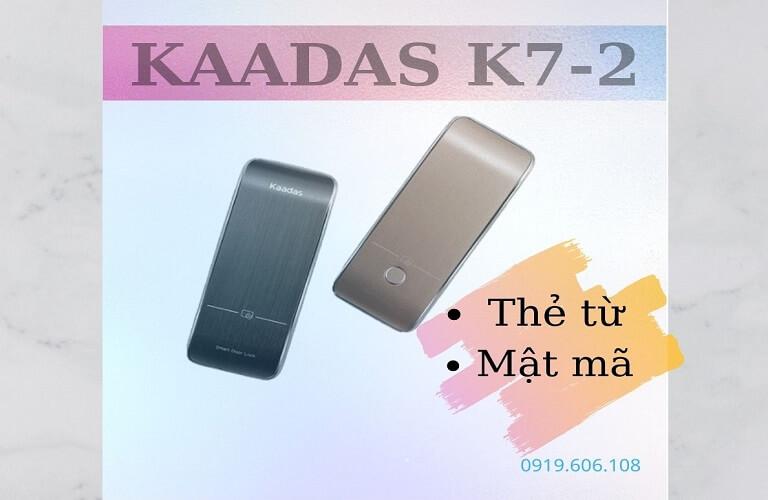 Khóa Cửa Thẻ Từ Kaadas R7-2 Cao Cấp Nhập Khẩu Giá Tốt