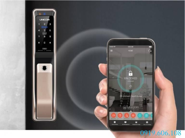 Tính năng của Khóa Cửa Thông Minh Unicor PM8000WSK