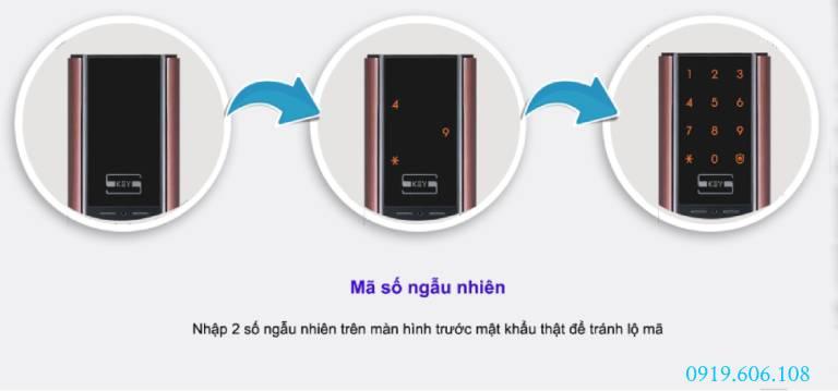 Tính năng của Khóa Cửa Thẻ Từ Samsung SHP-DH537MC/EN