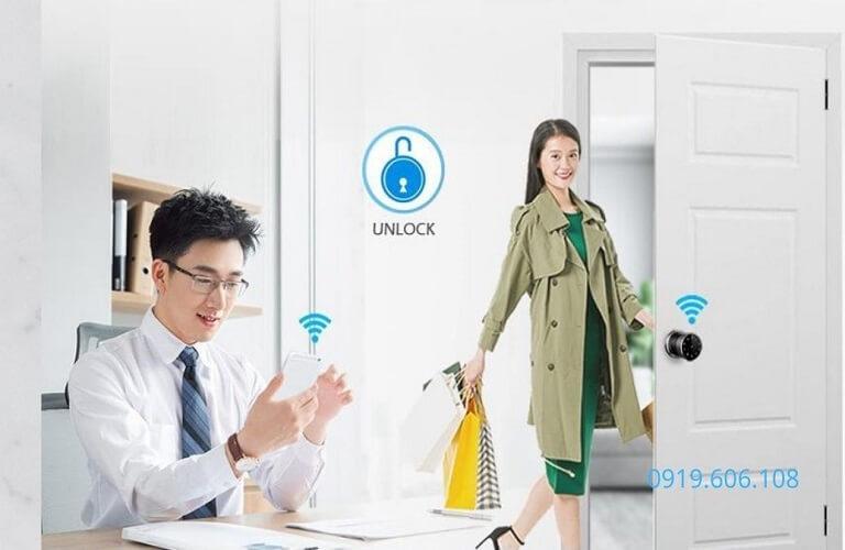 Khóa Cửa Thông Minh Viro Smart VR- H06 Nhập Khẩu Giá Rẻ