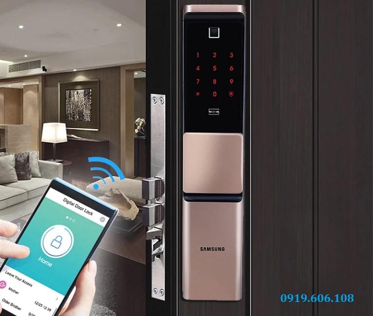 Lợi ích sử dụng khóa cửa thông minh Samsung