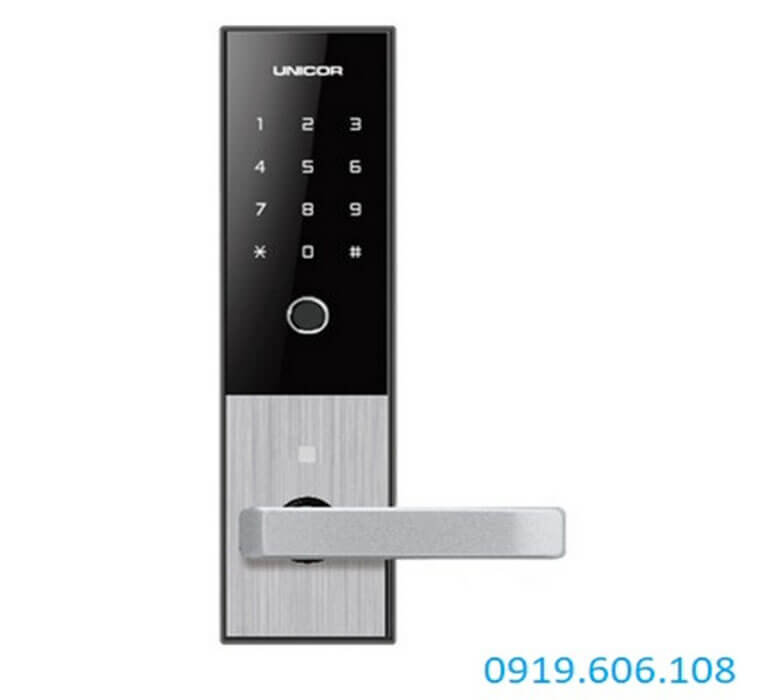 Khóa cửa mã số Unicor M6700BK
